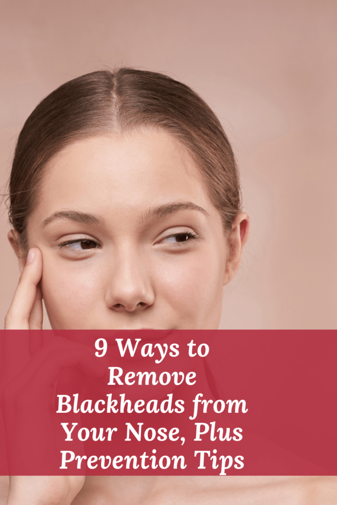 How to get rid of blackheads on the nose